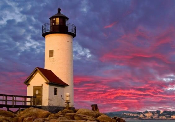 Lighthouses In Cape Ann