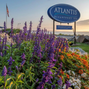 Atlantis Oceanfront Inn Exterior Sign