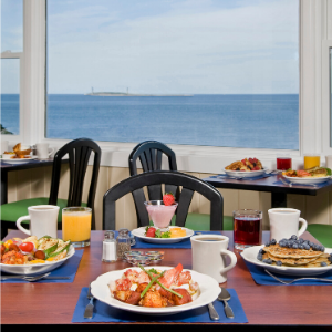 Atlantis Oceanfront Inn Gloucester Breakfast Cafe